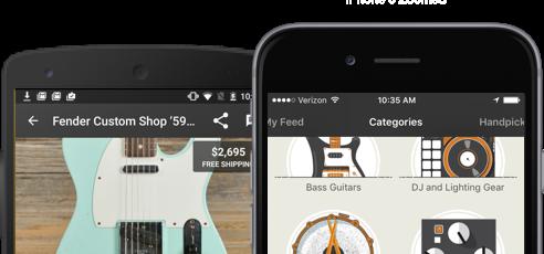 Reverb mobile app