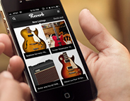 Reverb iPhone app